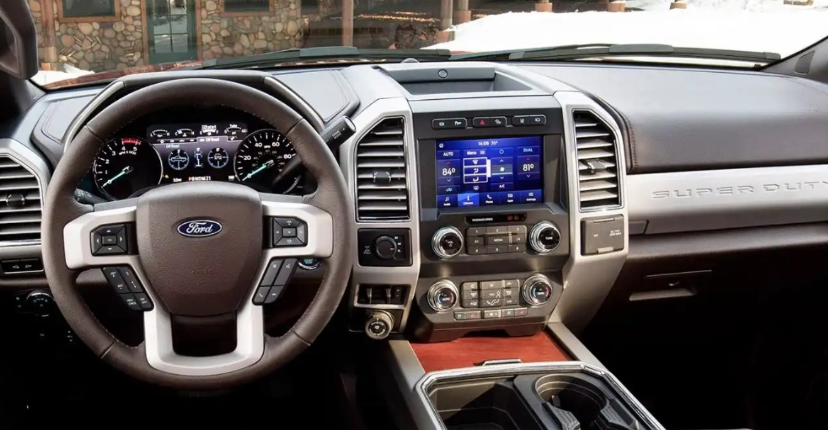 2021 Ford F-250 SuperDuty Electric Interior