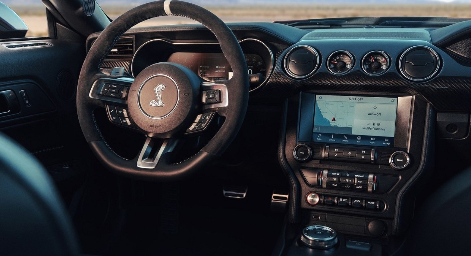 2021 Ford Mustang Shelby GT500 Interior