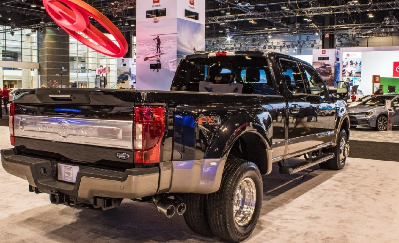 2022 Ford F-350 Super Duty Towing Capacity