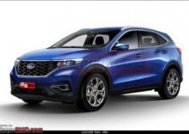 2022 Ford EcoSport Rendering And Details