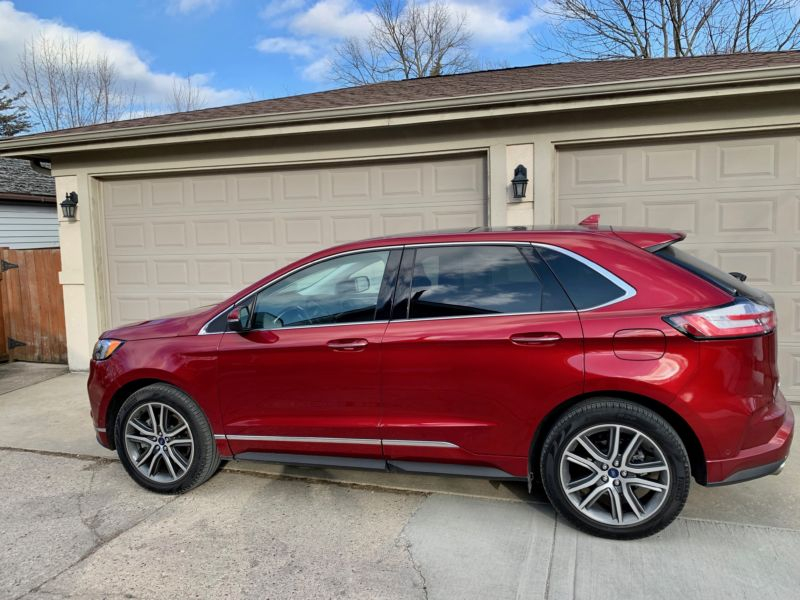On The Edge Of Something Really Good Ford Edge Review