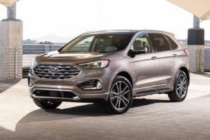 2019 Ford Edge Titanium Elite Front Three Quarter Motortrend