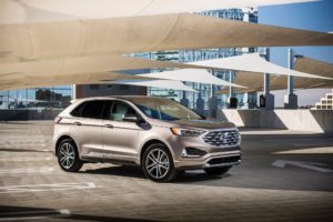 2019 Ford Edge Titanium Elite Package Debuts In Chicago