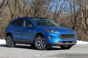 2020 Ford Escape SE Sport Hybrid Drivers Notes Photos