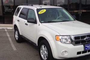 2012 Ford Escape XLT White Suede 800 950 2925 YouTube
