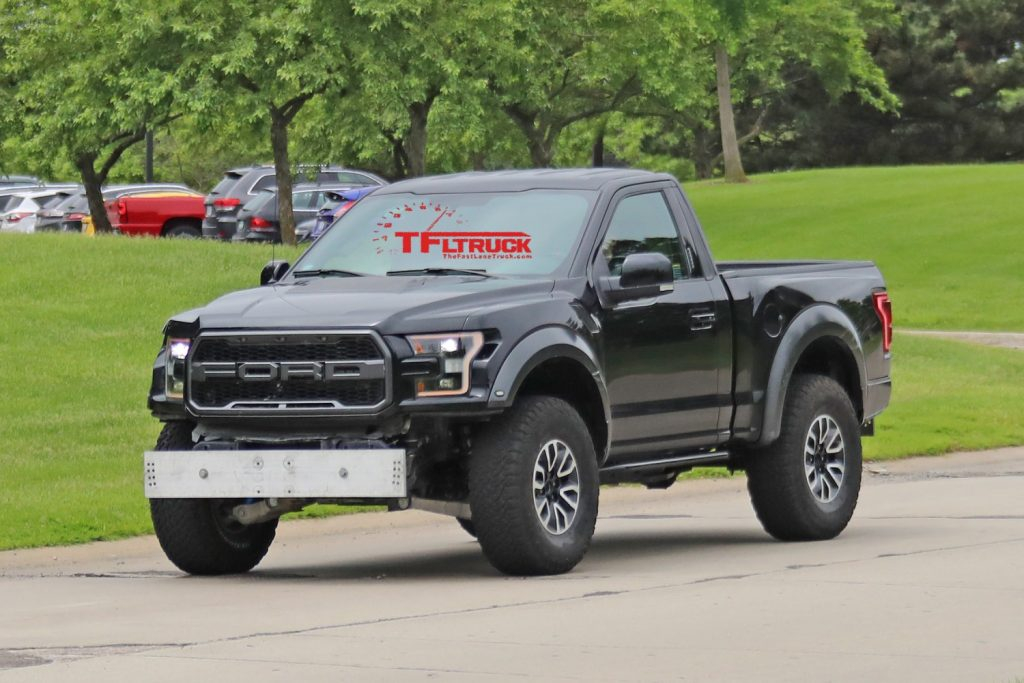 Spied Single Cab Ford F 150 Raptor Caught Testing Or Is
