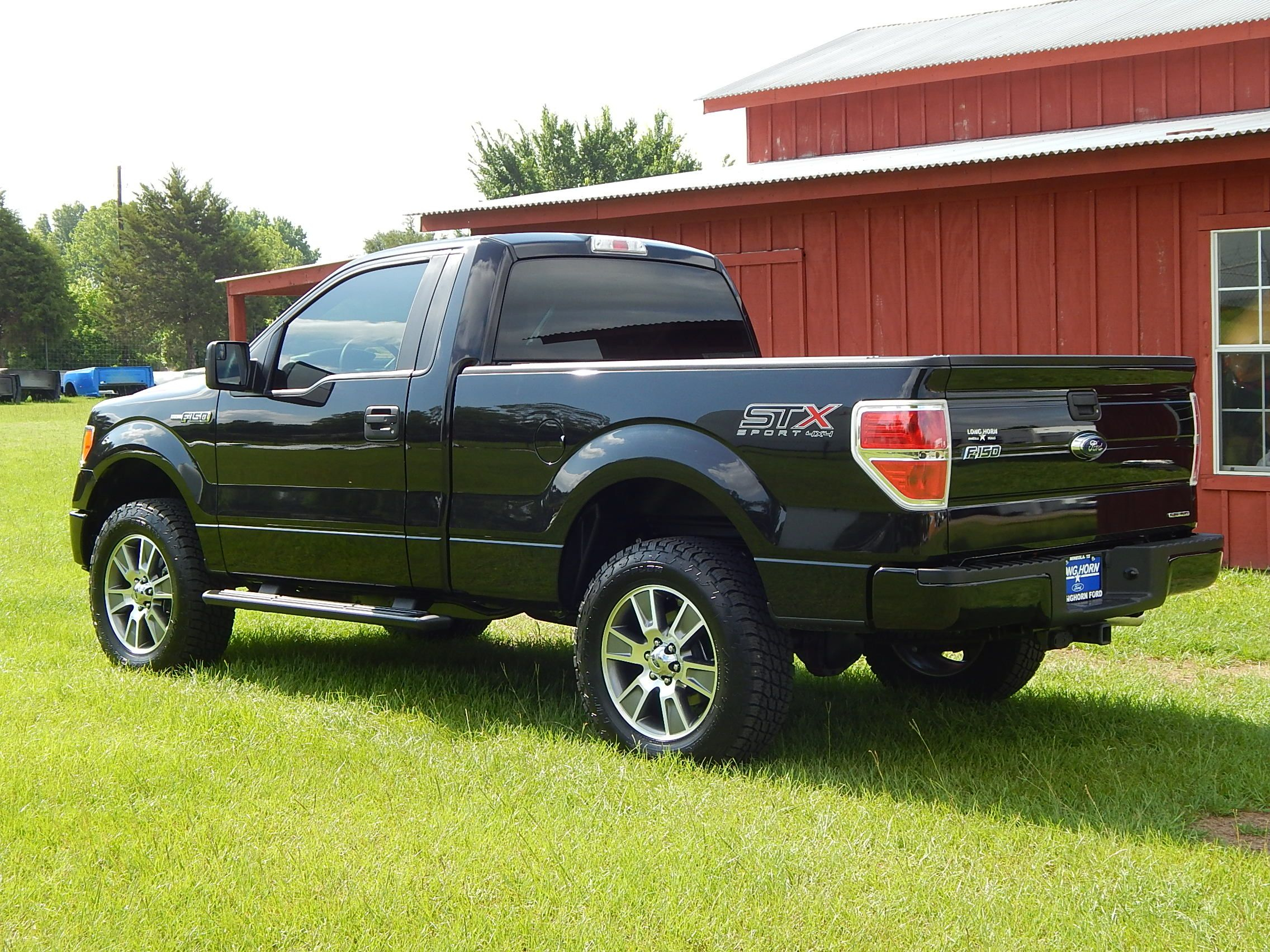 2014 Ford F150 STX Regular Cab 4X4 We Added A Leveling