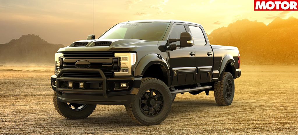 Ford F 250 Tuscany Black Ops Announced For Australia