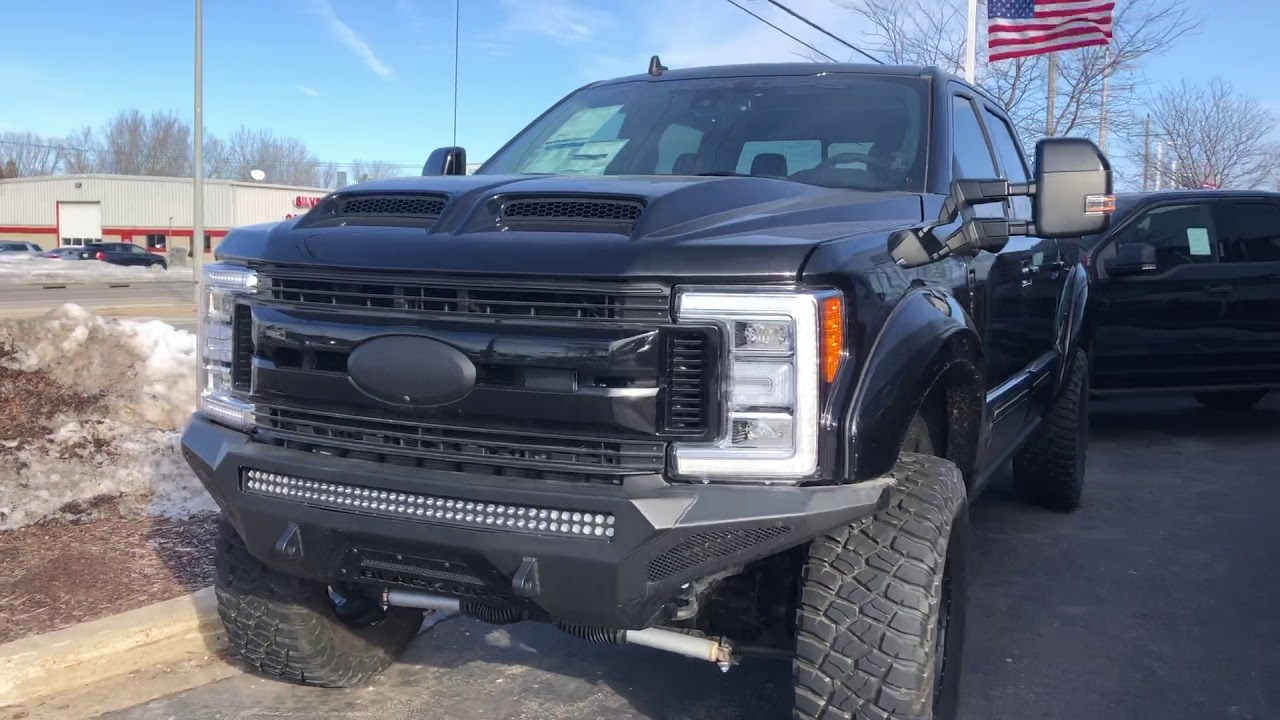 2019 F250 Black Ops Boucher Ford West Bend YouTube
