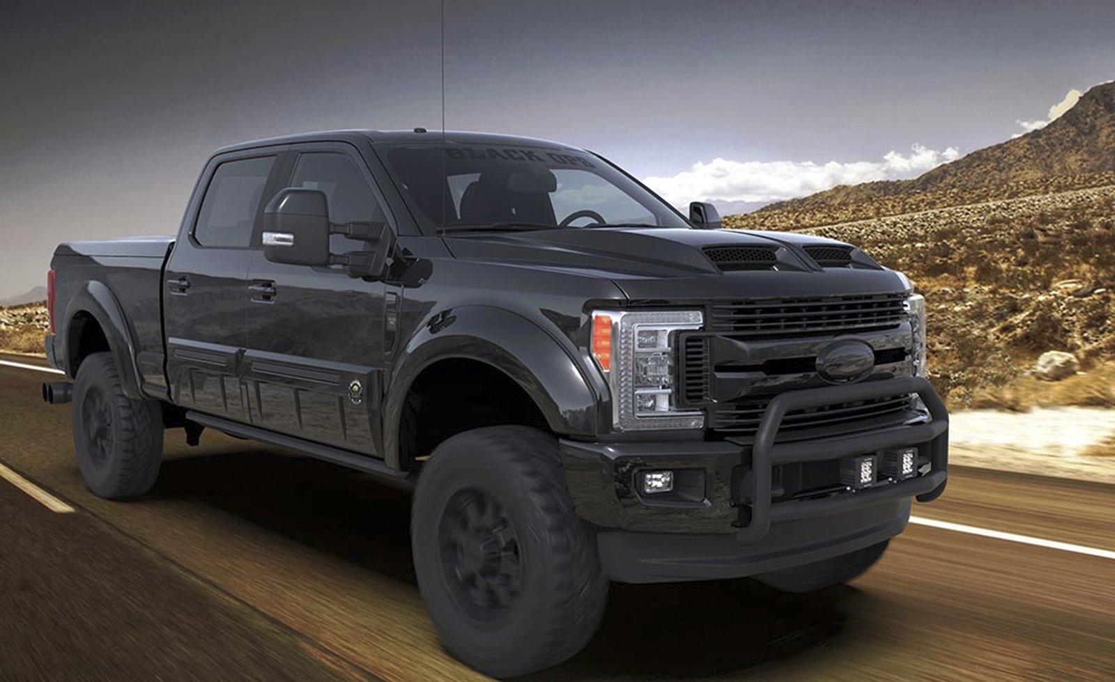 2020 Ford F 250 Black Ops By Tuscany Top Speed