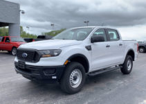 New 2020 Ford Ranger XL 4WD Crew Cab Pickup