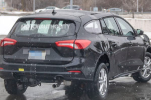 2022 Ford Transit Connect Spy Shots