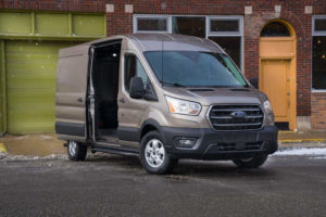 Vanlife 2022 Ford Transit Goes Electric But Can It Make