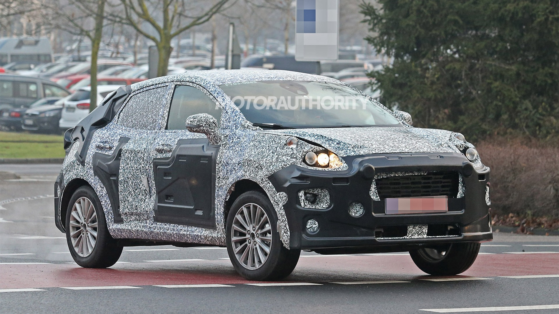 2022 Ford Ecosport Replacement Spy Shots