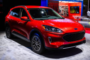 2020 Ford Escape Debuts In New York With Plug in Power