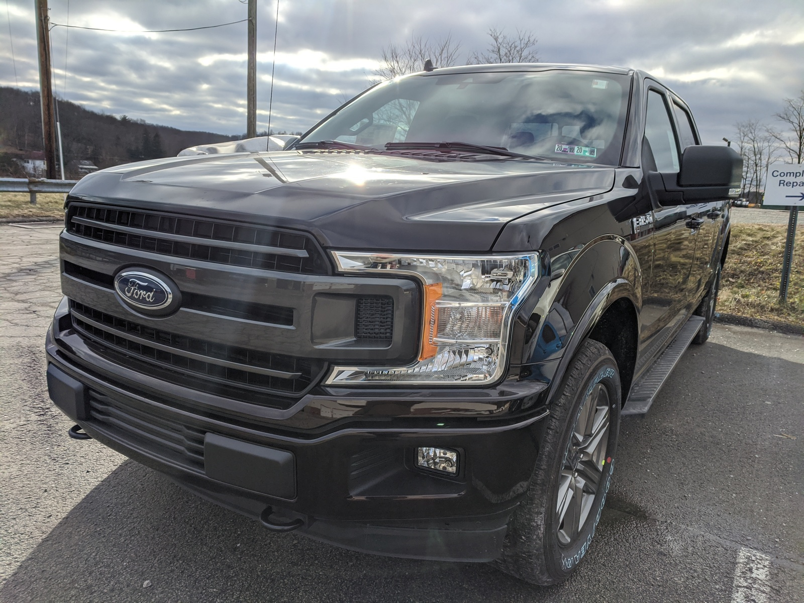New 2020 Ford F 150 XLT Crew Cab Pickup In Magma Red