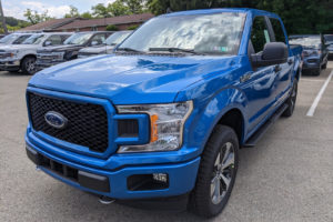 New 2020 Ford F 150 XL Crew Cab Pickup In Velocity Blue