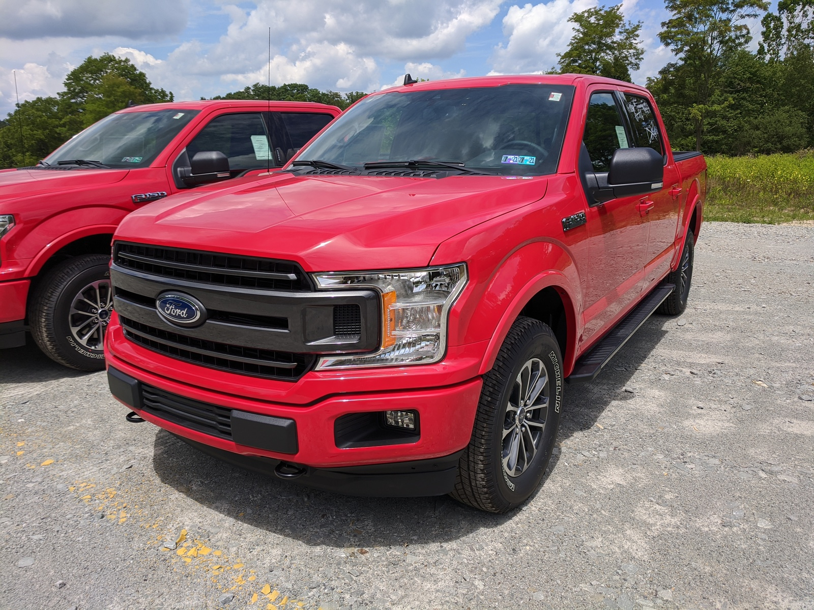 New 2020 Ford F 150 XLT Crew Cab Pickup In Race Red