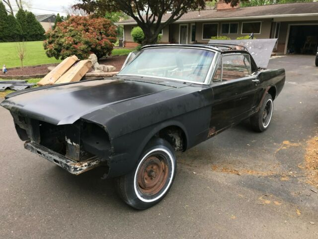 64 1 2 65 Ford Mustang Convertible V8 3 Speed Manual