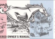 1965 Ford Mustang Owner s Manual Reprint With Envelope