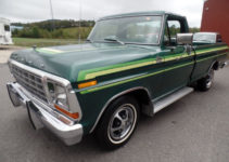 1978 Ford F150 Ranger Explorer 300ci 4 speed Manual A C