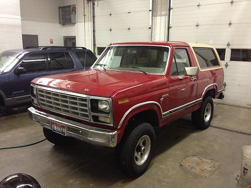 Purchase Used 1981 Ford Bronco Custom Sport Utility 2 Door