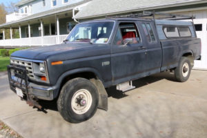 RARE ONE OWNER 1985 Ford F250 Extended Cab 4x4 For Sale