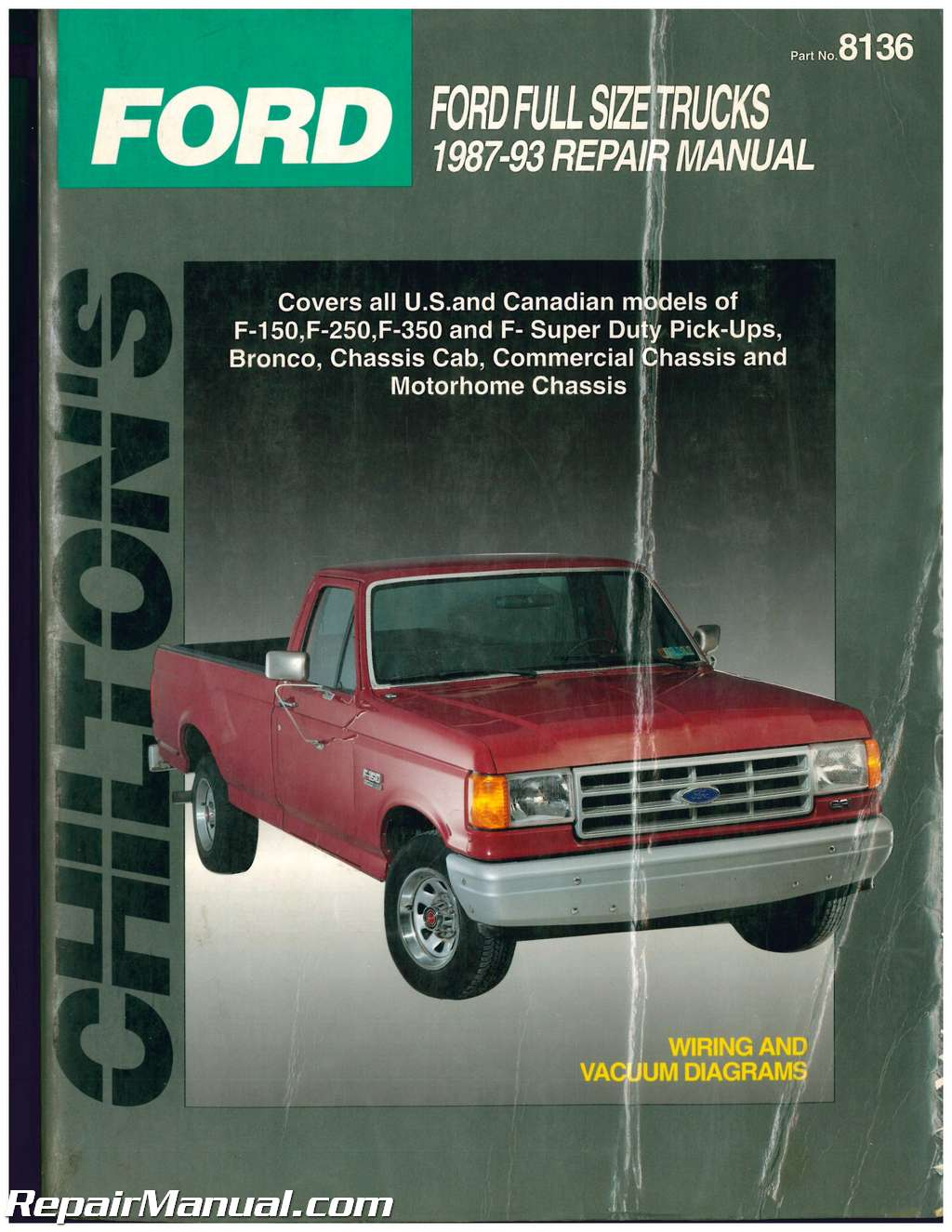 1987 Ford F250 Owners Manual FordPrice us