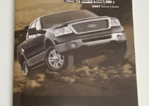 2007 FORD F 150 OWNERS MANUAL USER GUIDE REGULAR CAB