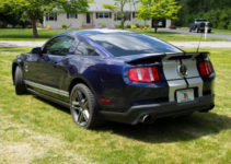 2010 Ford Mustang GT500 Kona Blue With Silver Stripes 6
