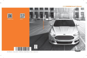 Ford Fusion 2013 Owner s Manual Pdf Online Download