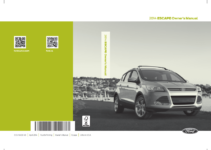 2014 Ford Escape Owner s Manual OwnerManual