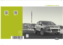 2016 Ford Escape Owner s Manual OwnerManual