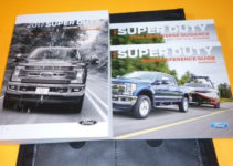 2017 FORD F SUPER DUTY OWNERS MANUAL SET GUIDE 17 F250