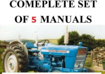 5 Ford 4000 SERVICE MANUAL TRACTORS SERVICE PARTS OWNERS